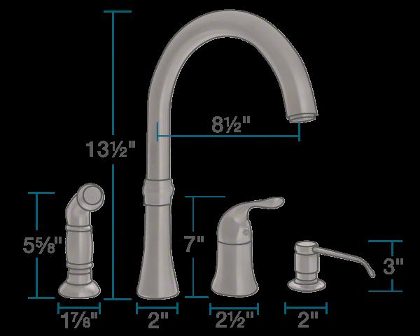 pfister pasadena kitchen faucet