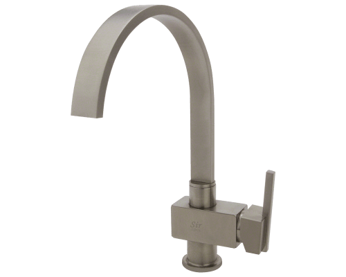 712 BN Brushed Nickel Single Handle Kitchen Faucet