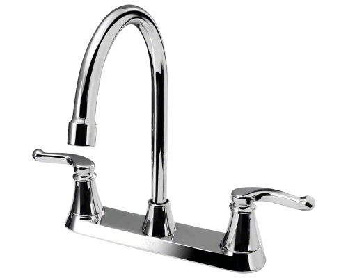 MR Direct 7142-C 7142-C Double Handle Faucet