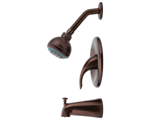 MR Direct 717-ORB 717-ORB Oil Rubbed Bronze 3 Piece Shower Set