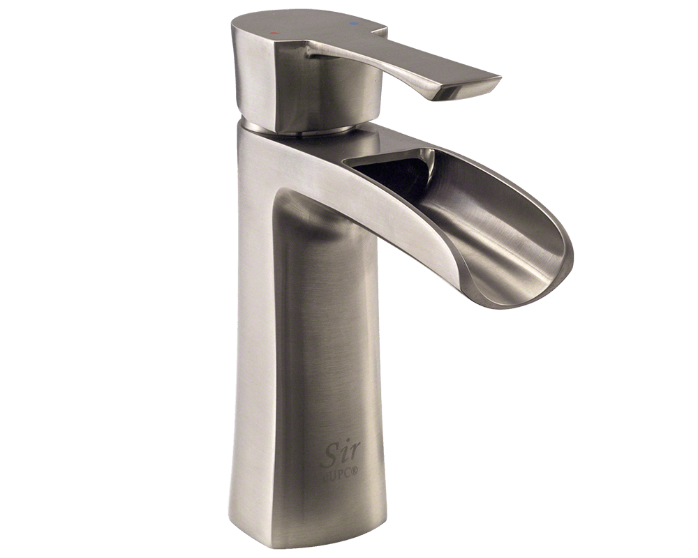 handle faucets faucet p in ssppu eco sink delta brushed centerset foundations bathroom nickel