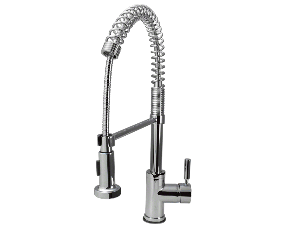 MR Direct 766-C Chrome Spring-Spout Faucet