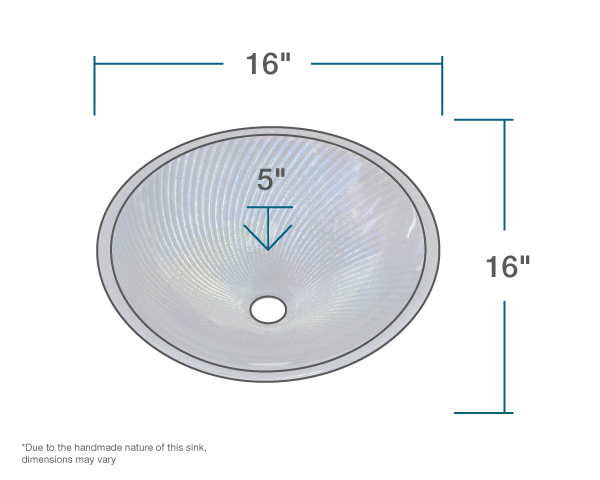 "The dimensions of 005-202-344 Slate Blue Reflections Vessel Sink is 0"" x 0"" x 0"". Its minimum cabinet size is 18""."