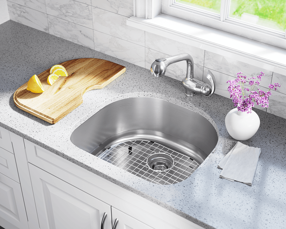 2421 d bowl stainless steel kitchen sink - Bowl Kitchen Sink