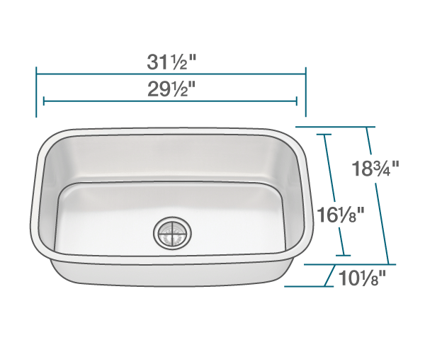 3118 stainless steel kitchen sink. beautiful ideas. Home Design Ideas