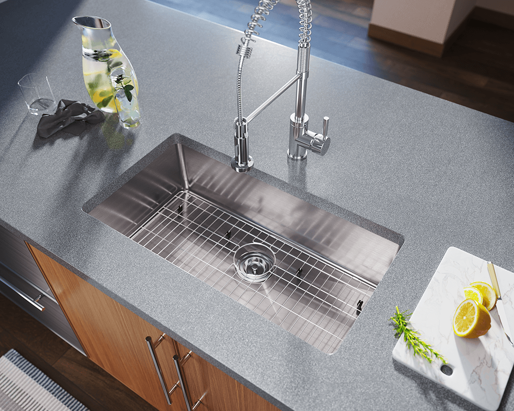 3120s Undermount Single Bowl 3 4 Quot Radius Sink
