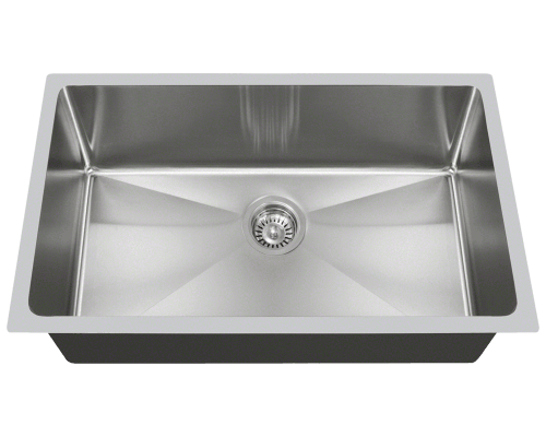 "MR Direct 3120S 3120S Undermount 3/4"" Radius Sink"