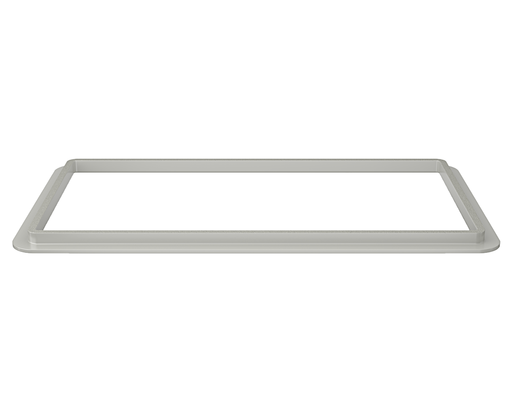 3160L-SLG Alt Image: 304-Grade Stainless Steel Rectangle Two Bowls Undermount to Laminate Kitchen Sink