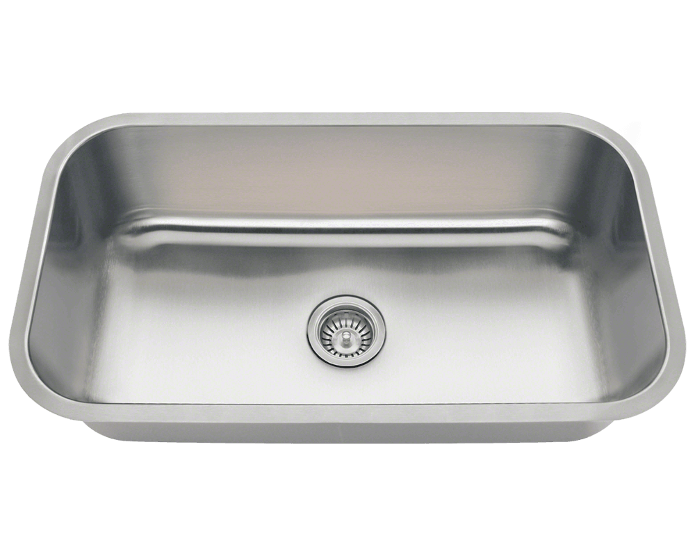 3218C Single Bowl Undermount Stainless Steel Sink 483 18 Reviews Click And Drag To Interact