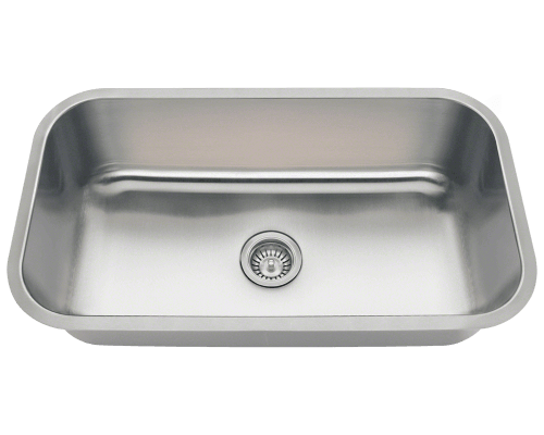 3218C Single Bowl Undermount Stainless Steel Sink