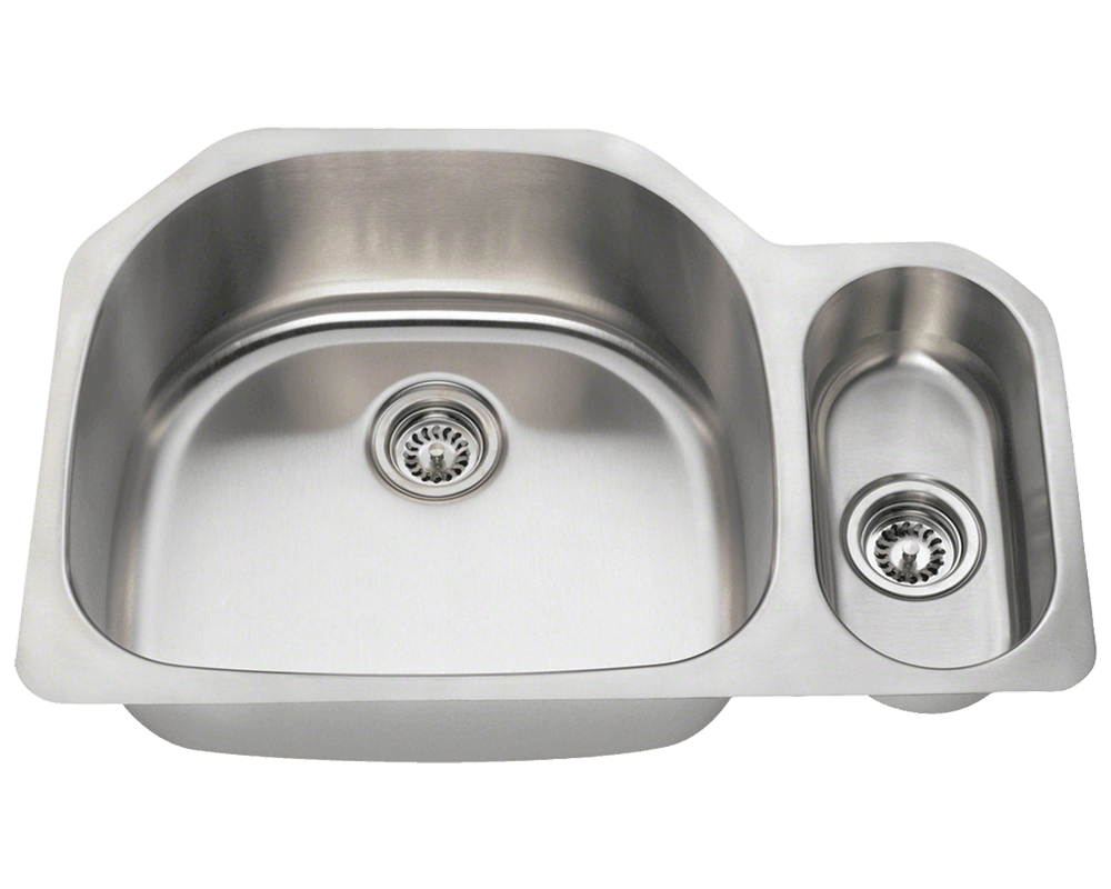 3221L Offset Stainless Steel Kitchen Sink