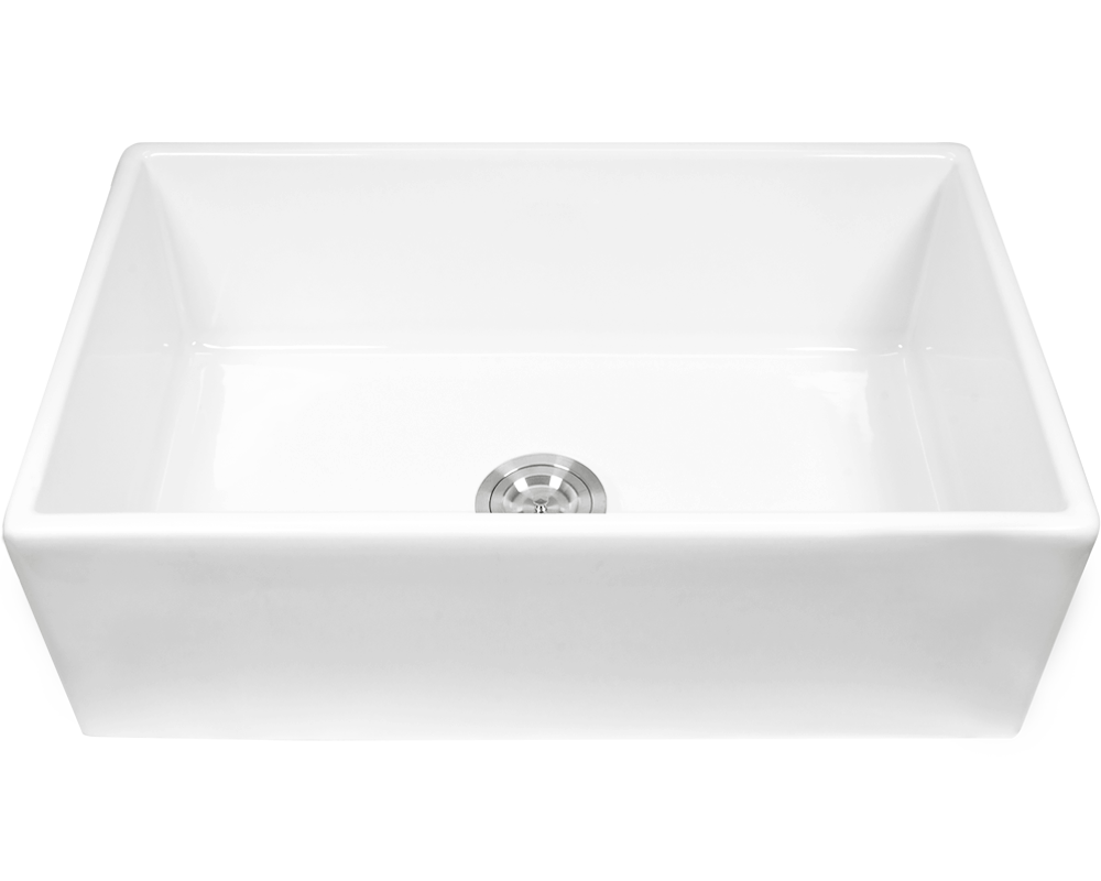 MR Direct 412 Fireclay Single Bowl Sink