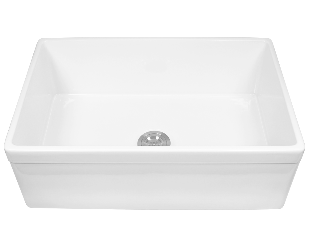 MR Direct 415 Fireclay Single Bowl Sink