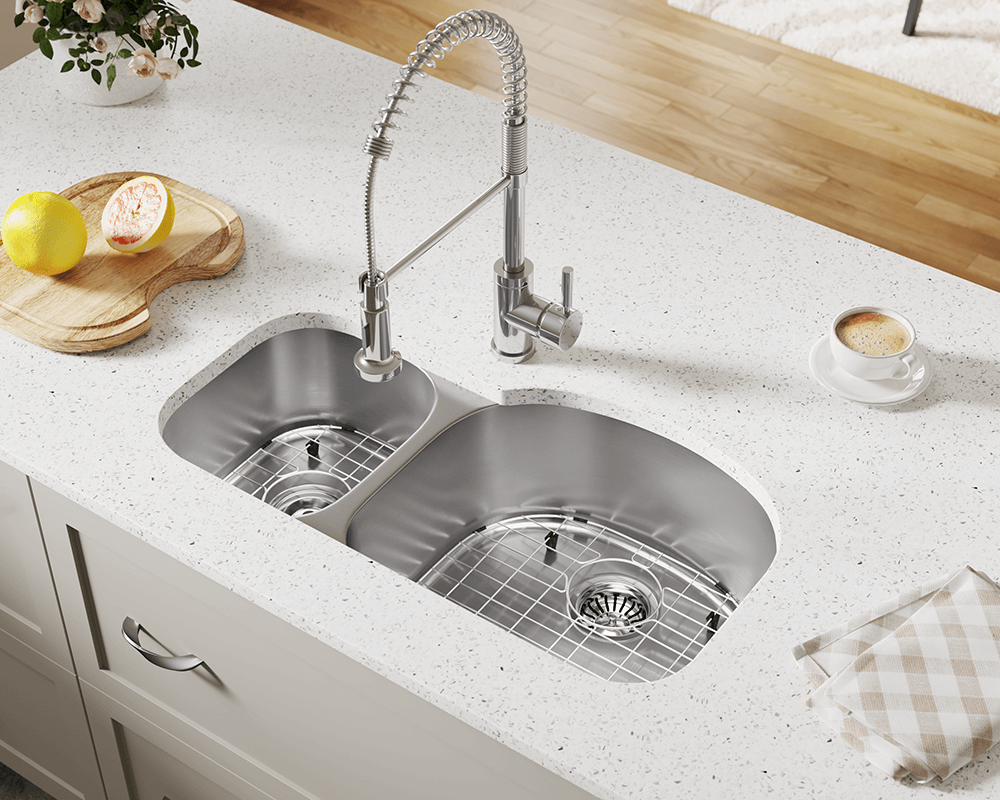 501R Offset Stainless Steel Kitchen Sink