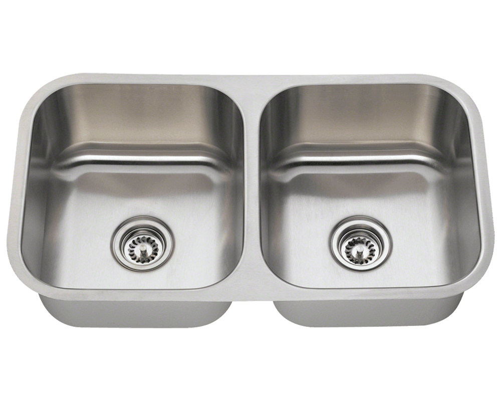 502a double bowl stainless steel kitchen sink rh mrdirectint com blanco double bowl stainless steel undermount kitchen sink
