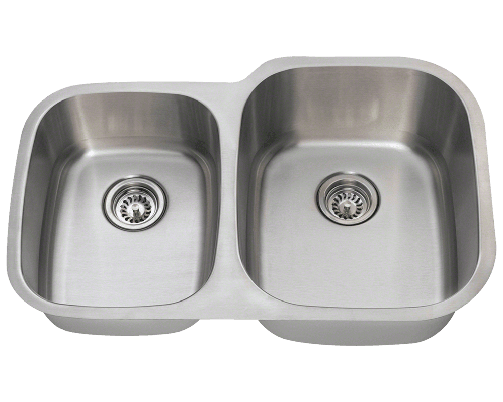 MR Direct 503R Reverse Offset Stainless Steel Sink