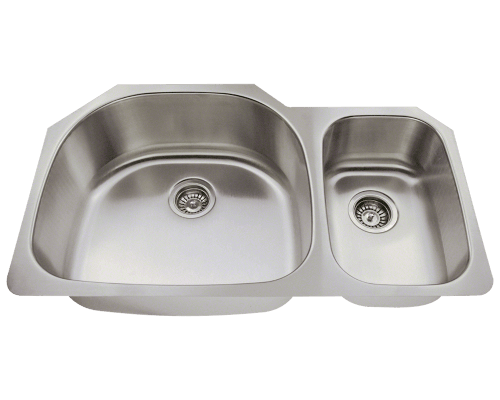 509L Offset Stainless Steel Kitchen Sink