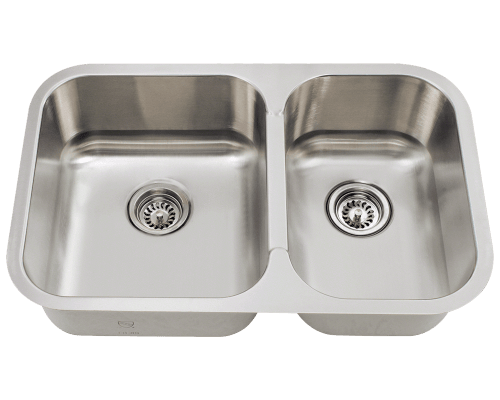 530L Small Offset Stainless Steel Sink