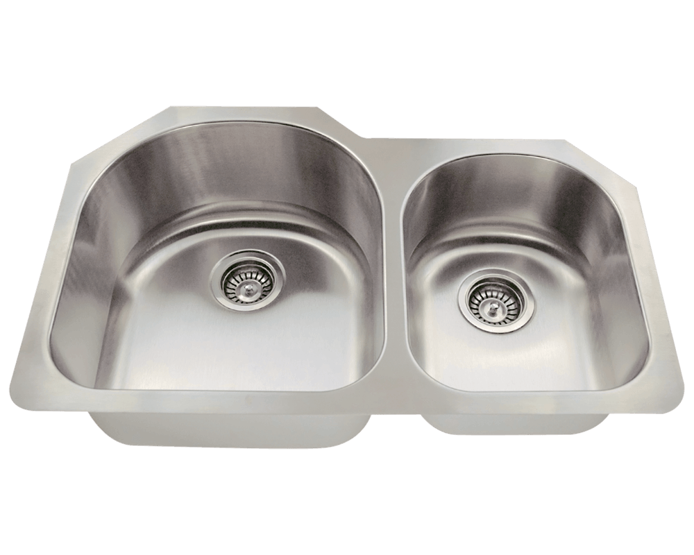 MR Direct 532L Offset Stainless Steel Kitchen Sink