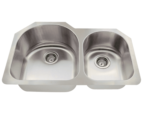 MR Direct 532L 532L Offset Stainless Steel Kitchen Sink