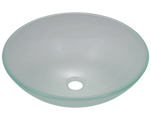 MR Direct 602 602 Frosted Glass Vessel Sink