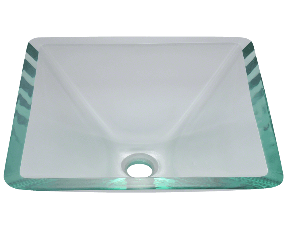 MR Direct 603-Crystal Glass Vessel Sink