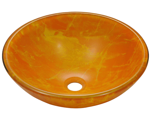 MR Direct 605 605 Double Layer Glass Vessel Sink