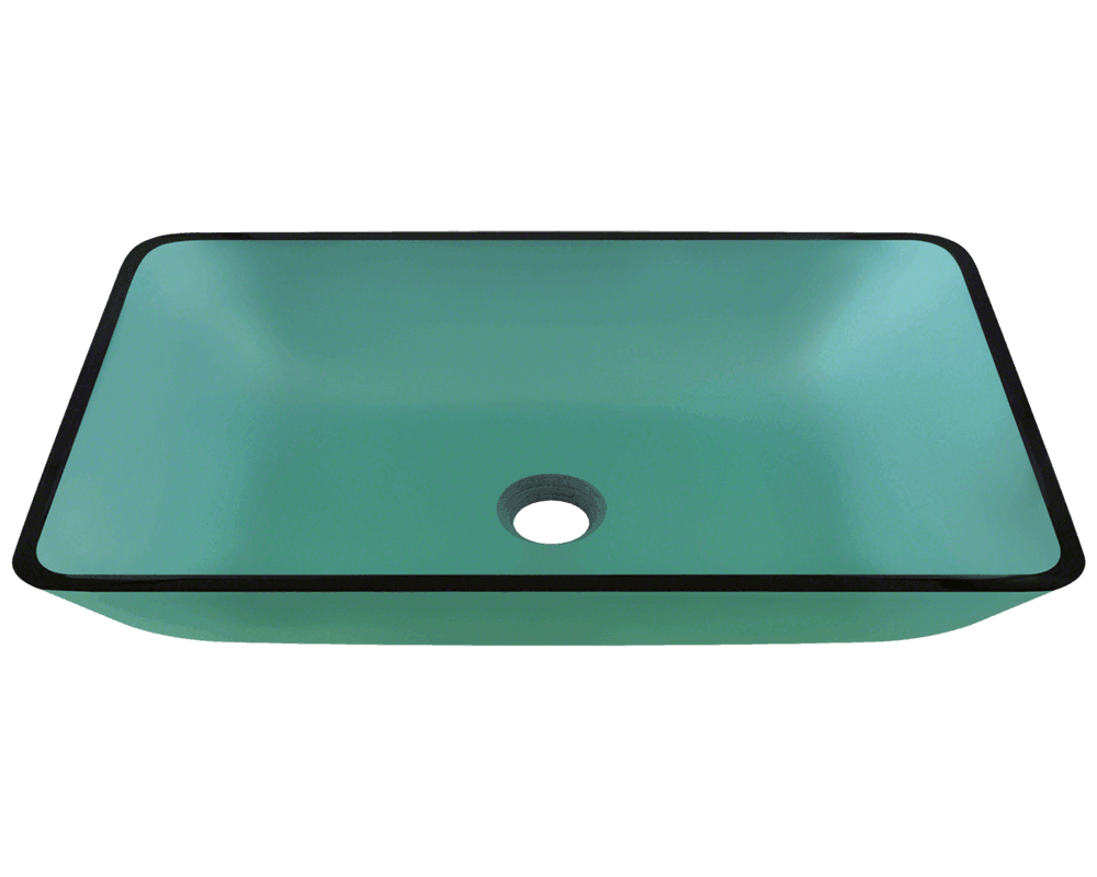 colored bathroom sinks 640 emerald glass vessel sink 12375