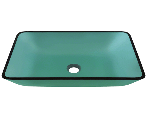 640 Emerald Glass Vessel Sink