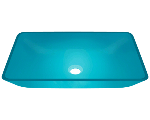 640-Turquoise Colored Vessel Sink