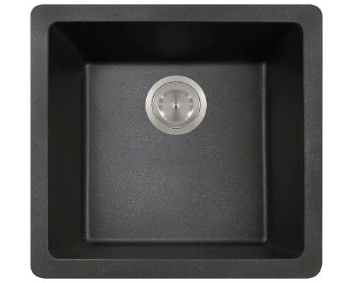 805-Black Single Bowl TruGranite Sink