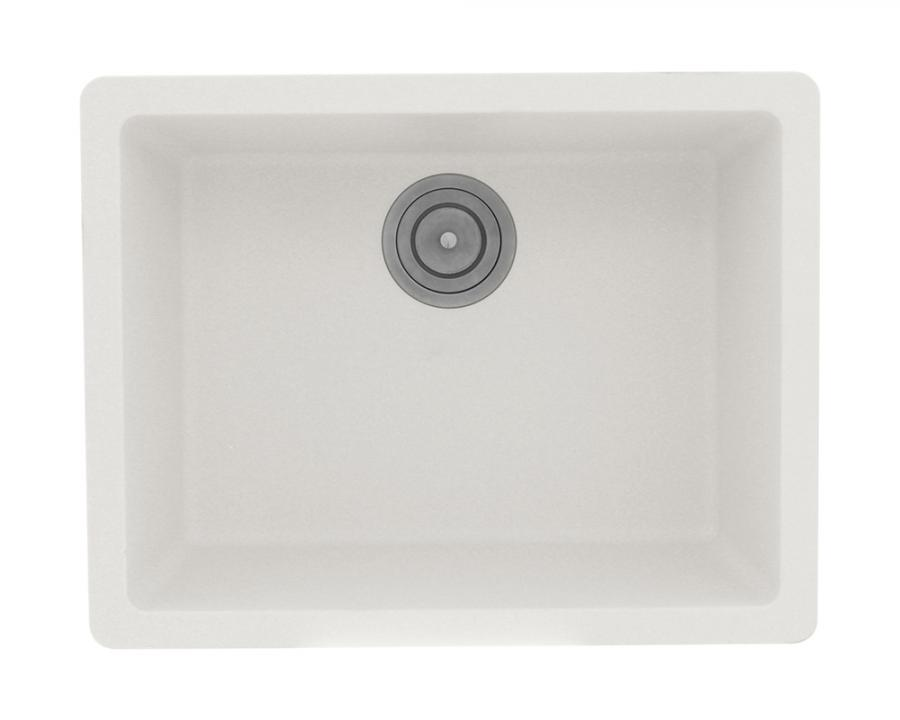 808 white single bowl trugranite sink 500 stars 2 reviews 189 - White Single Basin Kitchen Sink