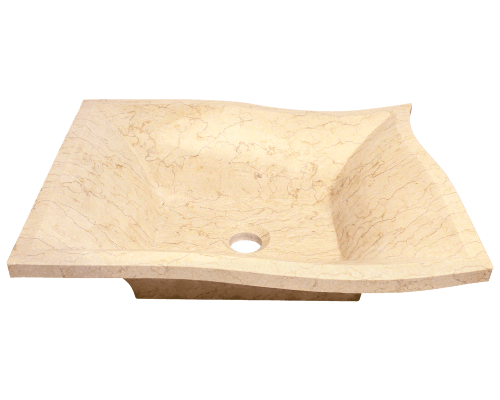 MR Direct 859 859 Egyptian Yellow Marble Vessel Sink