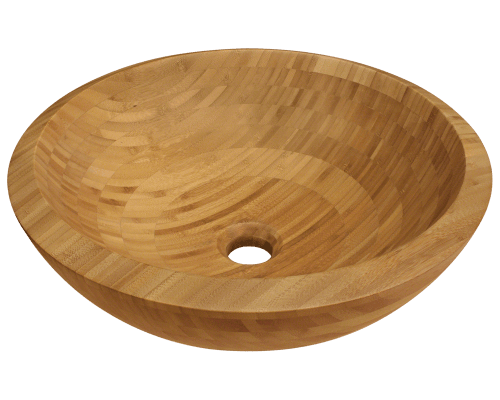 890 Bamboo Vessel Bathroom Sink