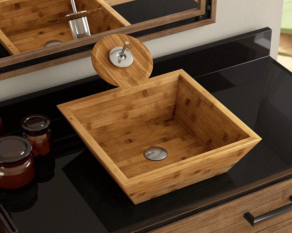 bamboo bathroom sinks 891 bamboo vessel bathroom sink 10170