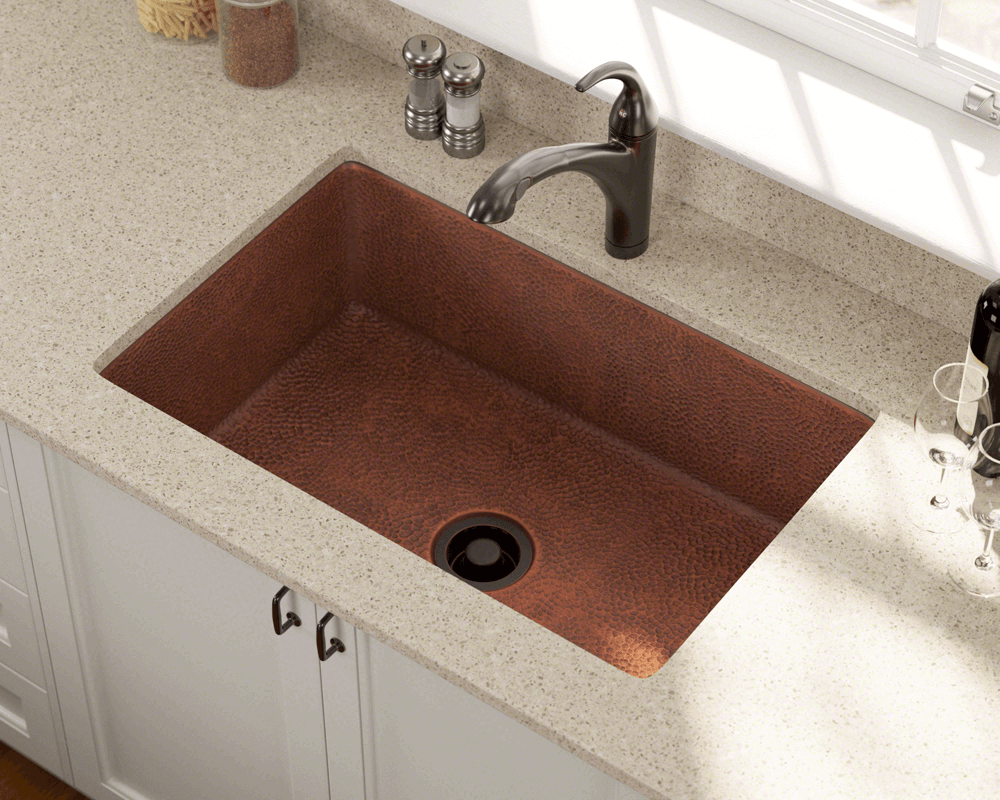 903 Single Bowl Copper Sink