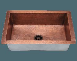 962 Bronze Drop In Sink