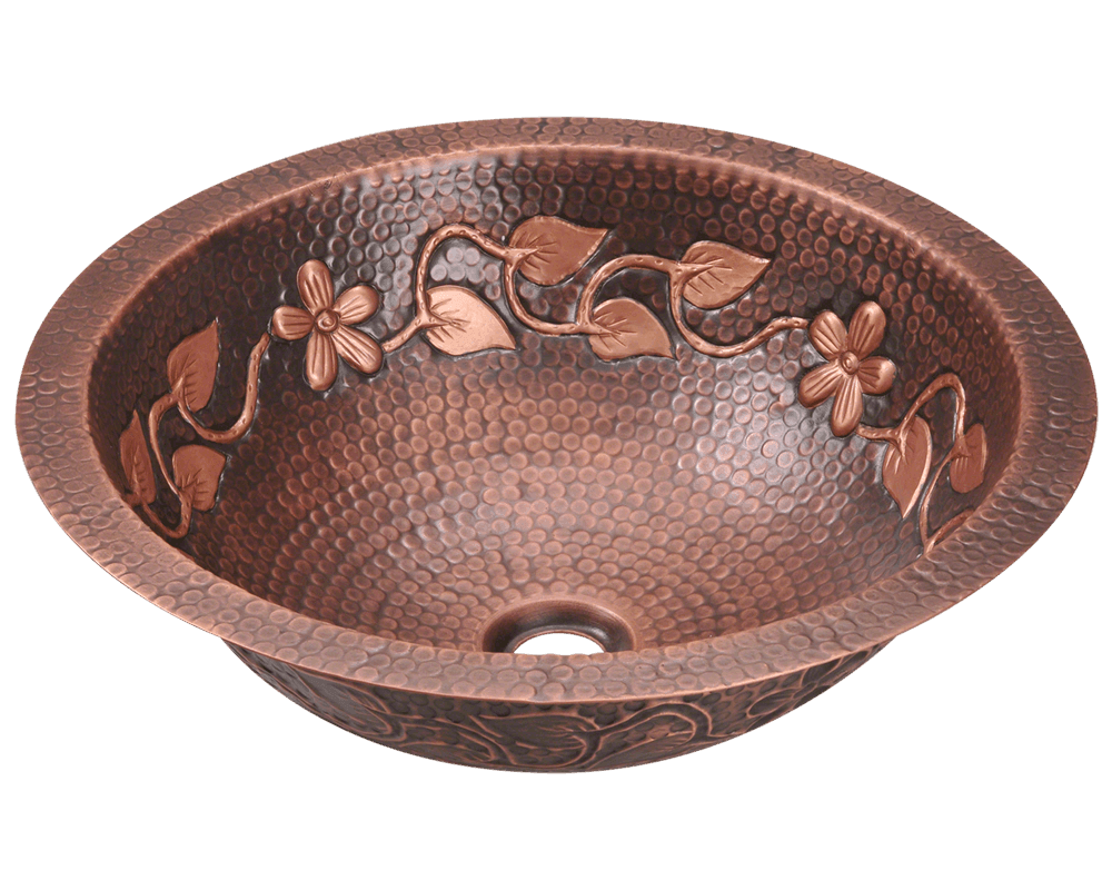 923 Single Bowl Copper Bathroom Sink