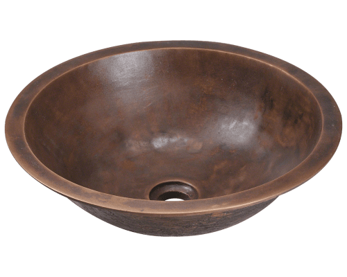 951 Single Bowl Bronze Bathroom Sink