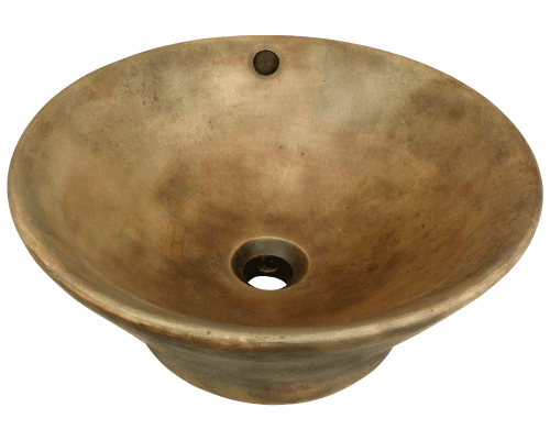 955-Gold Gold Bronze Vessel Sink