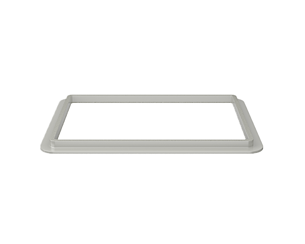 ADA1823-SLG Alt Image: 304-Grade Stainless Steel Rectangle One Bowl Undermount to Laminate Kitchen Sink