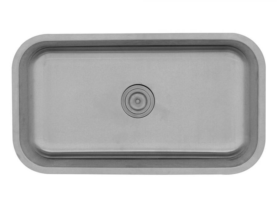 Ada3218c Slbl Single Bowl Undermount Stainless Steel Ada