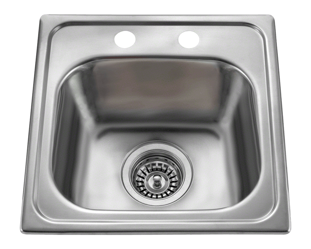 Single Stainless Steel Sink Part - 43: MX1515T Single Bowl Topmount Stainless Steel Sink