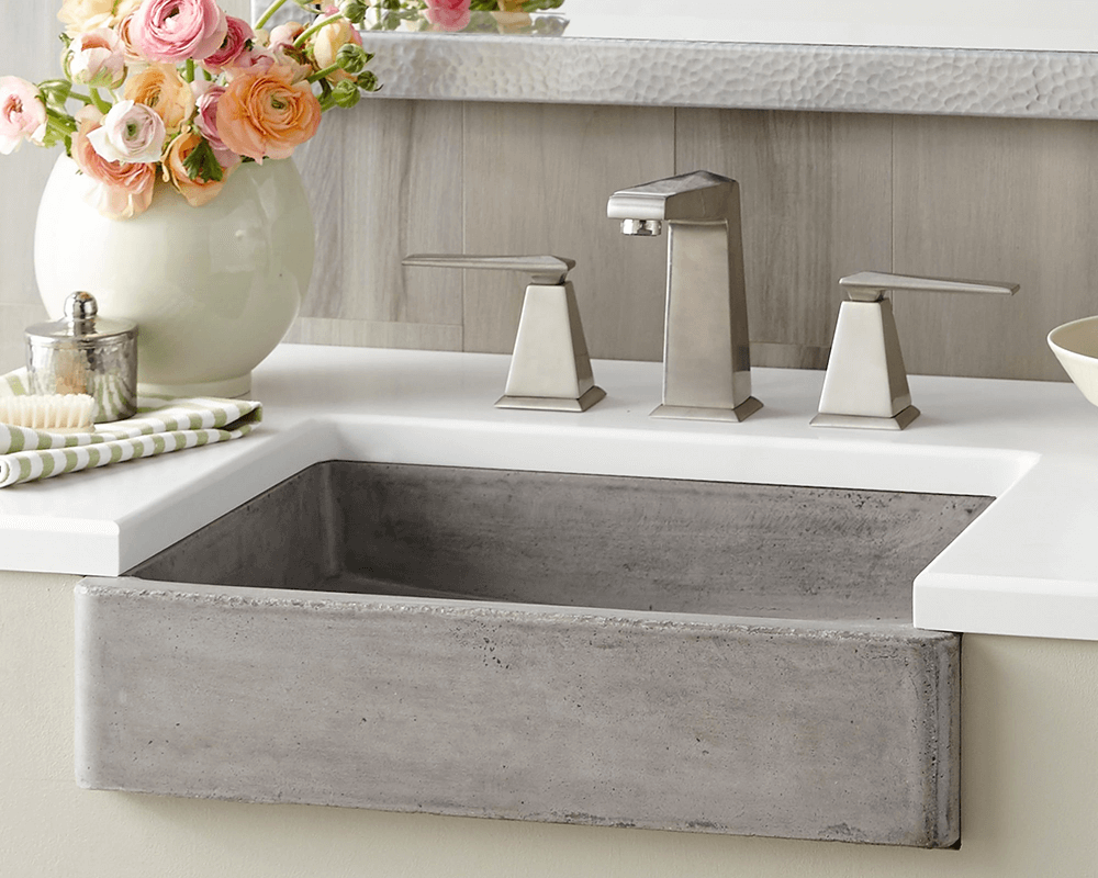 NSL1915-A Nipomo Bathroom Sink in Ash