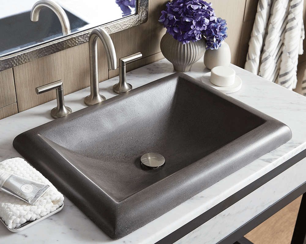 Nsl2216 S Montecito Bathroom Sink In Slate