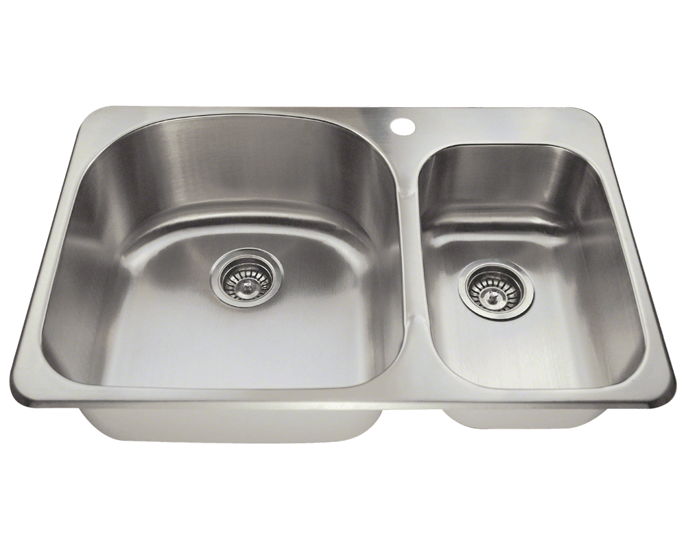 kitchen sinks top mount t3121l topmount offset stainless steel kitchen sink 6094