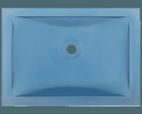 UG1913 Aqua Undermount Rectangular Glass Sink