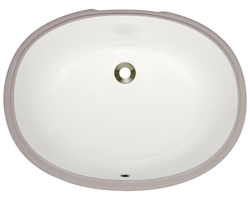 UPL-Bisque Porcelain Bathroom Sink