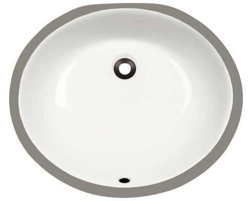 UPM-Bisque Porcelain Bathroom Sink