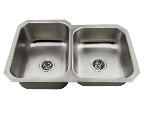 MR Direct US1053L US1053L Offset Stainless Steel Kitchen Sink